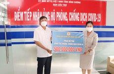 Tổng LĐLĐ Việt Nam hỗ trợ tỉnh Bình Dương phòng chống Covid-19