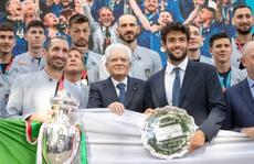 Ngày về 'vinh quy bái tổ' của tuyển Ý sau chức vô địch Euro 2020