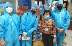 Hoa hậu Khánh Vân cùng nhiều nghệ sĩ tiếp tục hỗ trợ người dân chống dịch