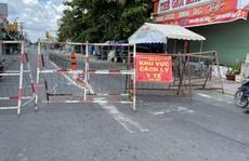 Một phần khu phố 3, 4 phường An Lạc, quận Bình Tân vừa kết thúc phong tỏa