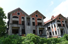 Cận cảnh dự án từng bị Thanh tra Chính phủ 'sờ gáy', hàng loạt biệt thự vẫn bỏ hoang