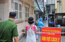 Hà Nội ghi nhận thêm 17 ca dương tính SARS-CoV-2 ở 7 quận, huyện