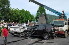 9 ôtô tông nhau liên hoàn, 1 người chết