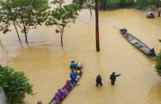 Khu đô thị hiện đại nhưng... ngập lụt