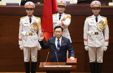 CLIP: Chủ tịch Quốc hội khoá XV Vương Đình Huệ tuyên thệ nhậm chức