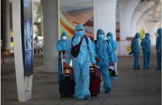 Chuyến bay đầu tiên đưa 168 người từ TP HCM về Đà Nẵng