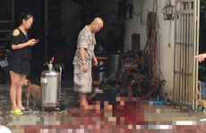 Nổ bình tạo bọt rửa xe, 1 phụ nữ tử vong