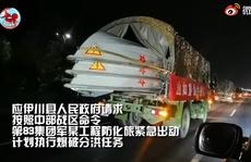 Mưa lũ nghiêm trọng, Trung Quốc điều quân đội trước nguy cơ vỡ đập