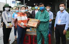 Chương trình 'Thực phẩm miễn phí cùng cả nước chống dịch' đến với Cần Thơ
