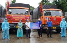 Nông sản từ Lâm Đồng 'đi xuyên đêm' về tặng người dân TP HCM