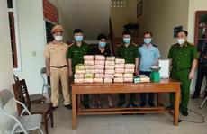 Bắt quả tang vụ vận chuyển hơn 30 kg ma túy tổng hợp và 12.000 viên hồng phiến