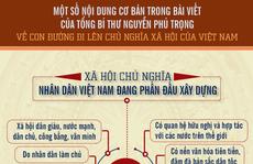[Infographic] Một số nội dung cơ bản trong bài viết của Tổng Bí thư Nguyễn Phú Trọng về con đường đi lên CNXH