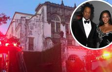 Biệt thự cổ của nữ danh ca Beyonce bị cháy