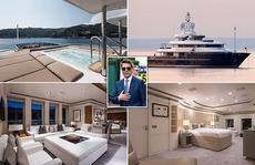 Bên trong du thuyền sang trọng mà Tom Cruise nghỉ dưỡng