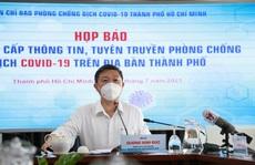 Phó Chủ tịch UBND TP HCM Dương Anh Đức thông tin về việc tuyển sinh lớp 10