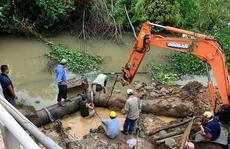 TP Đồng Hới bất ngờ mất nước sinh hoạt cục bộ do sự cố đường ống
