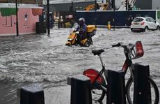 Mưa bão tràn vào, London cảnh báo 'xe hơi không phải tàu ngầm'