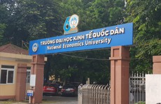 Trường ĐH Kinh tế quốc dân công bố điểm trúng tuyển