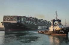 Tàu gây 'náo loạn' kênh đào Suez sắp được thả