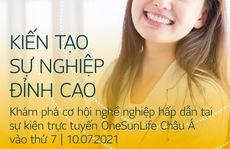 Học viện MDRT - Sun Life mang cơ hội nghề nghiệp cho thế hệ trẻ