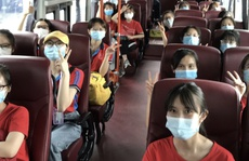350 cán bộ, sinh viên Đại học Y Hà Nội đến Bình Dương hỗ trợ phòng, chống Covid-19