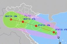 Tin áp thấp nhiệt đới khẩn cấp