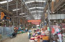 Công an đảm bảo an ninh khu chợ Bình Điền
