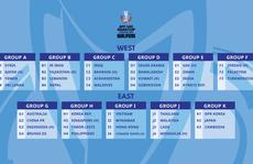 U23 Việt Nam gặp Myanmar, Hồng Kông và Đài Loan  ở vòng loại U23 châu Á