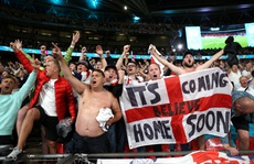 Cả nước Anh háo hức chờ 'lên đỉnh' nếu 'Tam sư' vô địch Euro 2020