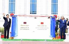 Nhà Quốc hội Lào: Công trình biểu tượng quan hệ Việt - Lào