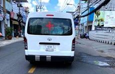 Tài xế xe 'cứu thương' bỏ túi 3,5 triệu cho đoạn đường 4 km