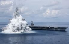 Thử nghiệm 'sốc' tàu sân bay, Mỹ không ngán 'sát thủ diệt hạm' Trung Quốc?