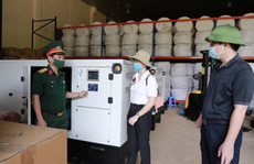 Xuất cấp hàng trăm trang thiết bị cho TP HCM chống dịch Covid-19