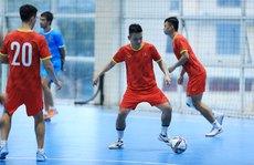 Tuyển futsal Việt Nam vào giai đoạn quan trọng