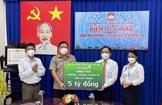 Vietcombank tài trợ 5 tỉ đồng cho công tác phòng, chống dịch Covid-19 tại Sóc Trăng