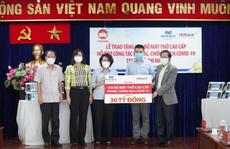 TP HCM tiếp nhận 100 máy thở hiện đại do Sovico, HDBank trao tặng