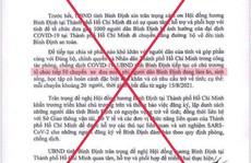 Xuất hiện văn bản giả mạo chữ ký chủ tịch tỉnh Bình Định trên mạng xã hội