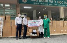 Tập đoàn Phương Trang đóng góp hàng ngàn máy trợ thở, máy tạo oxy hỗ trợ TP HCM chống dịch Covid-19
