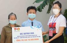 Nghệ sĩ Tuyết Thu, Huỳnh Lập, Thu Trang góp tiền bảo trợ trẻ mồ côi học hành, sinh sống