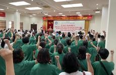 122 thầy thuốc Bệnh viện Phụ sản Trung ương lên đường vào miền Nam hỗ trợ chống dịch Covid-19