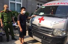 Tài xế xe cứu thương chở đôi nam nữ 'thông chốt' vào Hà Nội