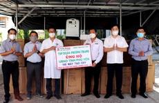 Phú Yên tiếp nhận 100 máy tạo ô-xy phục vụ bệnh nhân Covid-19
