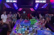Nhóm nam, nữ  mở 'đại tiệc bay lắc' giữa dịch Covid-19