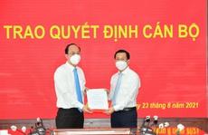 Ông Nguyễn Hoàng Anh giữ chức vụ Phó Chánh Văn phòng Thành ủy TP HCM