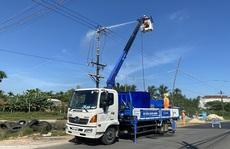 PC Quảng Ngãi: Đẩy mạnh các biện pháp ngăn ngừa và khắc phục sự cố lưới điện