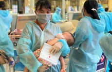 Chuyến bay chở 189 công dân đặc biệt khó khăn từ TP HCM về Thanh Hóa
