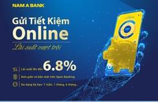 Lãi suất tiết kiệm online Nam A Bank lên đến 6.8%/năm