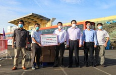 669 người dân Phú Yên từ TP HCM tiếp tục được đưa về quê