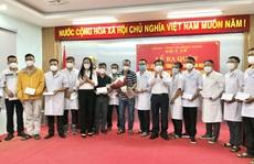 34 y, bác sĩ Quảng Ngãi lên đường vào TP HCM hỗ trợ chống dịch Covid-19
