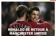 Ronaldo tái hợp Man United: Truyền thông thế giới 'việt vị', trang chủ 'Quỷ đỏ' sập nguồn